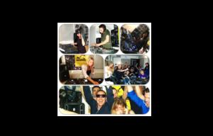 collage foto dei corsi